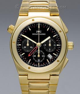 IWC | Ingenieur Chronograph Alarm Gelbgold | Ref. 9515