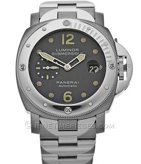 OFFICINE PANERAI | Luminor Submersible Stahl/Titan | Ref. PAM 170