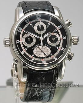 MAURICE LACROIX | Masterpiece Chronograph Globe | Ref. MP6398
