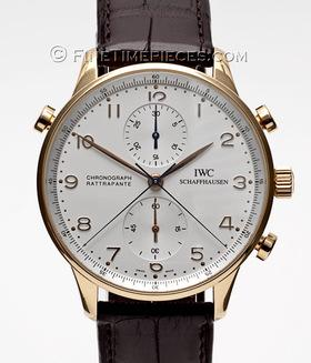 IWC | Portugieser Chronograph Rattrapante Rotgold | Ref. 3712 - 03