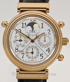 IWC | Da Vinci Perpetual Calendar Chrono-Rattrapante Rotgold | Ref. 3754 - 003