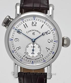 CHRONOSWISS | Repetition a Quarts Platin | Ref. CH1640