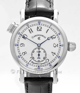 CHRONOSWISS | Repetition a quarts Edelstahl | Ref. CH1643