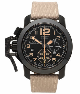 GRAHAM | Chronofighter Oversize Chronograph Black Sahara | Ref. 2CCAU.B02A.T13N