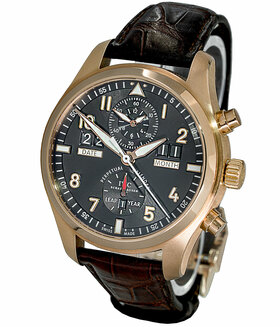 IWC | Fliegeruhr Spitfire Perpetual Calendar Digital Date-Month Rotgold | Ref. IW379103