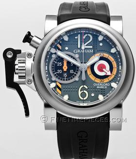 GRAHAM | Chronofighter Overlord Mark III limitiert | Ref. 2OVAS.G01A.K10B