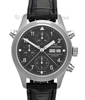 IWC | Fliegeruhr Doppelchronograph Klassik | Ref. 3713-3