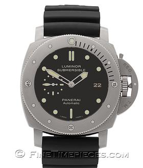 OFFICINE PANERAI | Luminor 1950 Submersible 3 Days Titan O-Serie | Ref. PAM 305