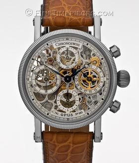CHRONOSWISS | Opus Chronograph Stahl | Ref. CH7523S