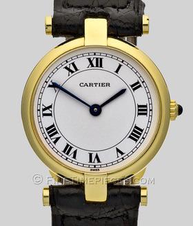 CARTIER | 18 kt Damenuhr Gold VLC | Ref. 881002