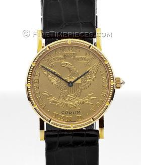 CORUM | 10 Dollar Coin Watch 22/18 Kt. Gold Handaufzug | Ref. 5514756