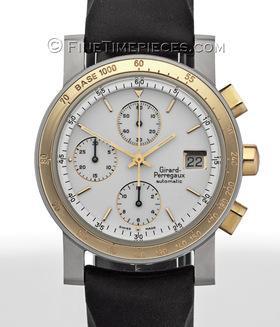 GIRARD PERREGAUX | GP 7000 Chronograph Titan/Gold | Ref. 7000