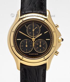 CARTIER | 18 kt Gold Cougar Damen Chronograph | Ref. W 3500851