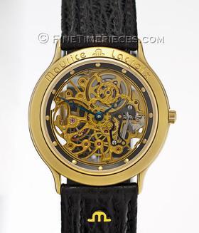 MAURICE LACROIX | Handaufzug Gold Skelettiert | Ref. 12988-5201