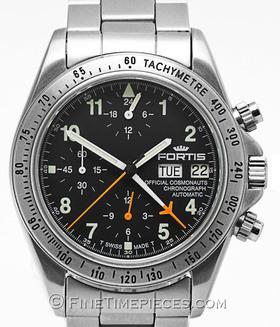 FORTIS | Official Cosmonauts Chronograph Set Lemania 5100 | Ref. 602 . 10 . 142