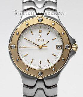 EBEL | Sportwave Stahl/Gelbgold | Ref. E6187631-1016C