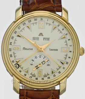 MAURICE LACROIX | Automatik Kalender 18 Kt. Gold Limited | Ref. 44073