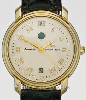 MAURICE LACROIX | Automatik *Springende Stunde* 18 Kt. Gold Limited | Ref. 29074