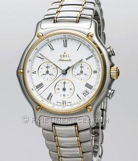 EBEL   Chronograph Classic   Stahl/Gold   Ref. 1134901