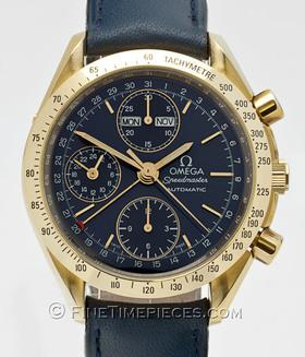 OMEGA | Speedmaster Automatic Day Date Chronograph 18 kt. Gelbgold | Ref. 3621 . 80 . 00