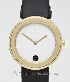 OMEGA | Art Collection Max Bill 1987 Gelbgold/Weißgold Lady | Ref. BJ 195 043 003 L 0