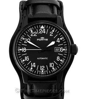 FORTIS | Flieger Black Automatic 24 h | Ref. 596.18.41L