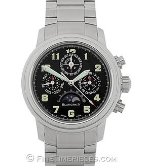 BLANCPAIN | Leman FlyBack Chronograph Ewiger Kalender Edelstahl | Ref. 2585F-1130-71A