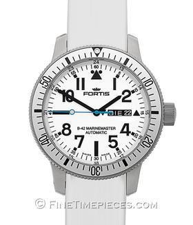 FORTIS | B-42  MarineMaster White Day Date | Ref. 647.11.42.SI02