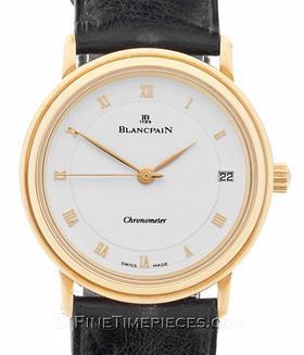 BLANCPAIN | Villeret Ultra Slim Chronometer Gelbgold | Ref. 1195-1418C-55