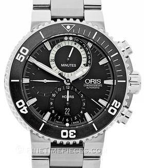 ORIS | Carlos Coste Chronograph Limited Edition Cenote Series | Ref. 01 674 7655 7184 - Set