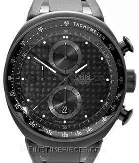 ORIS | TT3 Chronograph Black Titan | Ref. 0167476117764-0742802B