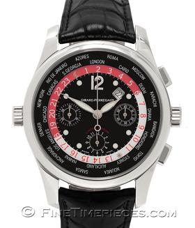 GIRARD PERREGAUX | World Time Chronograph WW.TC limitiert | Ref. 49810