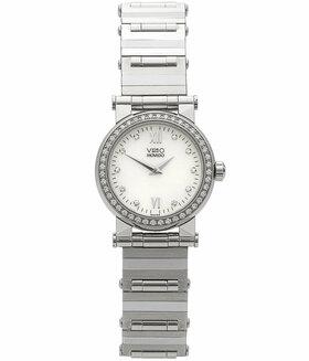 MOVADO | Vizio Mini Quarz Stahl/Weißgold Diamant | Ref. 92-E1-0848