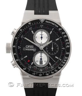 ORIS | Williams F1 Team Lefty Limited Edition GMT Titan | Ref. 677 7577 70 54