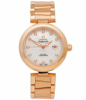 OMEGA | De Ville Ladymatic Co-Axial 34 mm mit Brillanten | Ref. 425.60.34.20.55.001