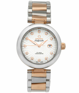 OMEGA | De Ville Ladymatic Co-Axial 34 mm mit Brillanten | Ref. 425.20.34.20.55.001