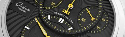 GLASHÜTTE ORIGINAL | PanoMaticChrono platinum limited 21 pieces | ref. 90-01-13-03-04