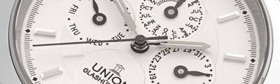 UNION GLASH�TTE | Tradition Ewiger Kalender Automatik | Ref. 26-50-03-04-10