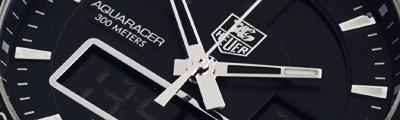 TAG HEUER | Aquaracer Chronotimer Quartz | Ref. CAF1010.FT8011