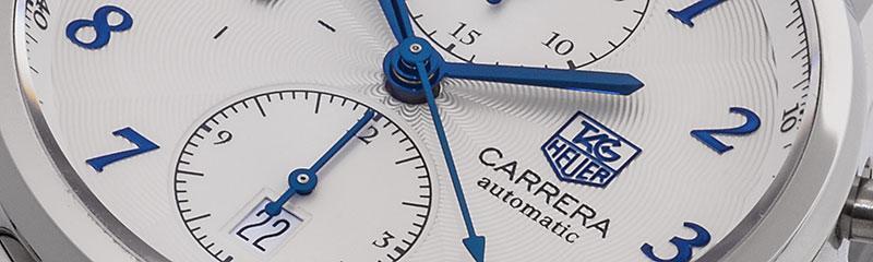 TAG HEUER | Carrera Heritage Chronograph Calibre 16 | ref. CAS2111.BA0730