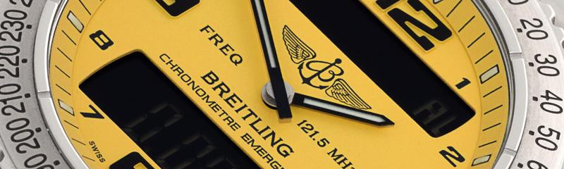 BREITLING | Emergency SuperQuartzTM | Ref. E76321/418