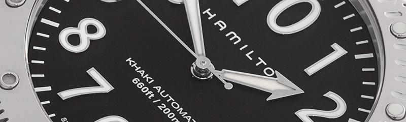 HAMILTON | Khaki BeLOWZERO 200m Auto | Ref. H78555533