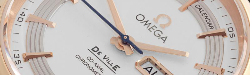 OMEGA   De Ville Hour Vision Co-Axial Annual Calendar 41 mm   Ref. 431.63.41.22.02.001