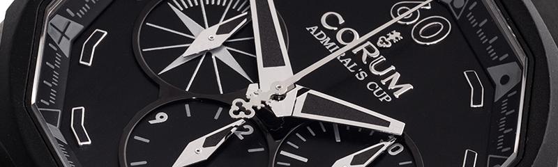 CORUM | Admirals Cup Chronograph 48mm Black Titan Limitiert | Ref. 753.935.06/0371AN52