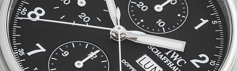 IWC | Fliegeruhr Doppelchronograph Klassik Service 2016  | Ref. 3713