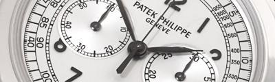 PATEK PHILIPPE | Grande Taille Chronograph Weißgold Service 2021 | Ref. 5070G