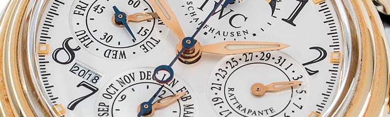 IWC | Da Vinci Perpetual Calendar Chronograph Rattrapante Rotgold | Ref. 3754-003