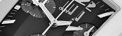DUNHILL | *Dunhillion Facet* Chronograph Quarz | Ref. DQ9011AL