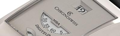 CHRONOSWISS | Digiteur White Gold Limit On 99 Pieces | ref. CH1371