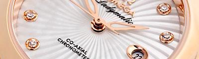 OMEGA | De Ville Ladymatic Co-Axial 34 mm Brillanten | Ref. 425.60.34.20.55.001